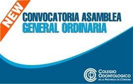 Convocatoria general a Asamblea Ordinaria