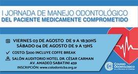 I Jornada de Manejo Odontológico del paciente médicamente comprometido