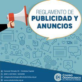 Reglamento de Publicidad y Anuncios