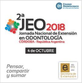Jornada Nacional de Extensión en Odontología