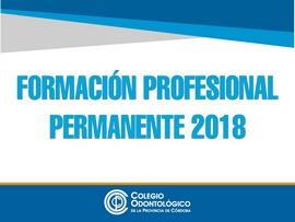 Formación Profesional Permanente