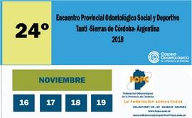 Encuentro Provincial Odontológico de la Federación Odontológica